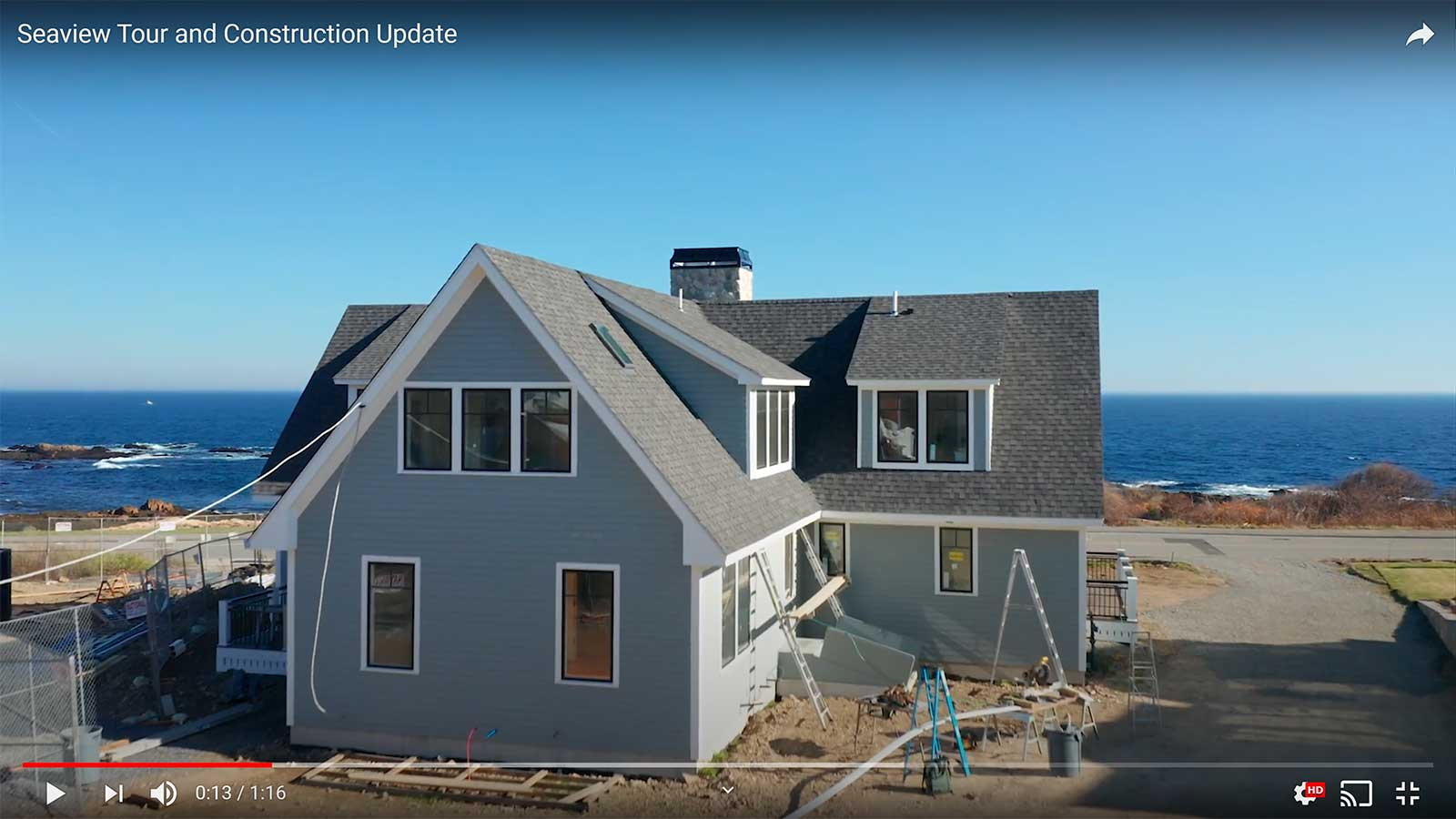 Seaview Tour and Construction Update